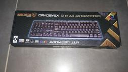 CLAVIER GAMING PROFESSIONNEL BATTLETRON NEUF