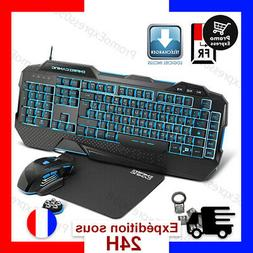 EMPIRE GAMING - Hellhounds Pack Clavier-Souris et Tapis Game
