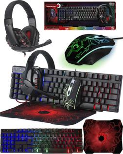 Orzly Clavier et Souris Gamer - RX250 Ensemble PC Gamer Incl